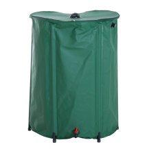 Outsunny Rain Barrel Rainwater Collection, PVC, 225L-Green