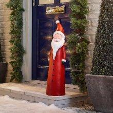Winter Workshop - 72cm Indoor & Outdoor Poly Resin Father Christmas Figure