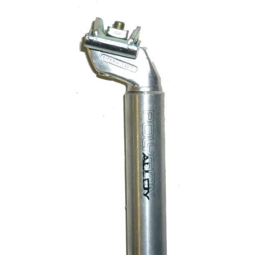POLYGON ALLOY Bike/Bicycle SEATPOST (26.8mm Diameter) M/A 200mm LONG in SILVER