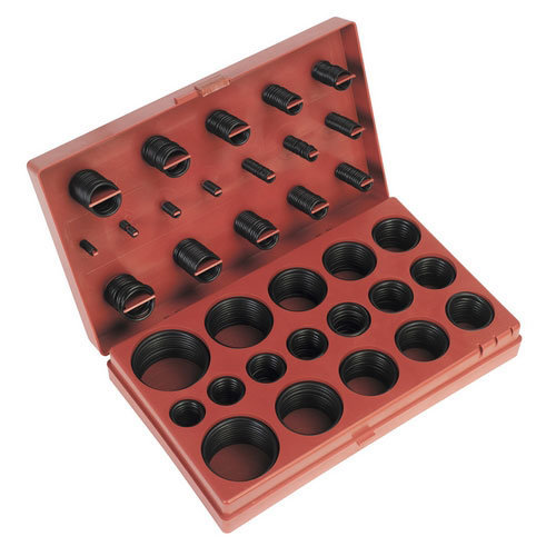 Sealey BOR419 419pc Rubber O-Ring Assortment
