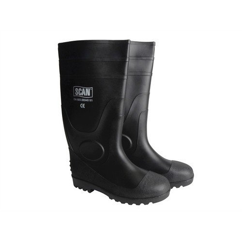 Scan SCAFWWELL10 Safety Wellingtons UK 10 Euro 44