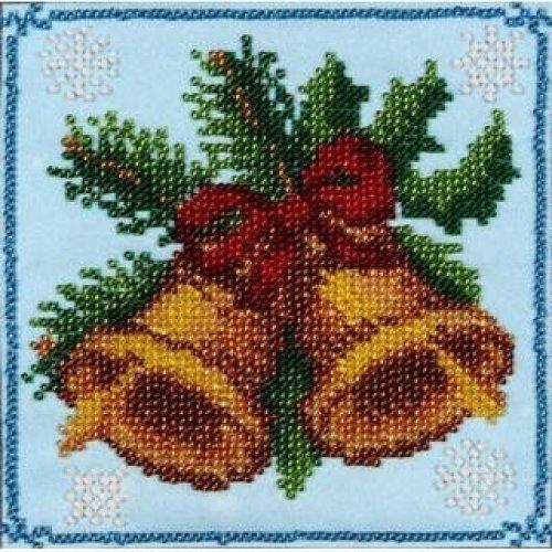 VDV Bead Embroidery Kit - Christmas Bells
