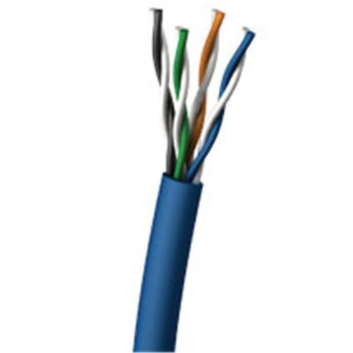 Cables To Go 32388 1000ft CAT 5E SHIELDED SOLID PVC CM-CMG CABLE - BLUE