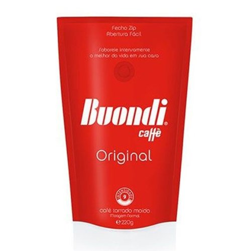 "Coffee ""Buondi"" Original - 220gr x 8 packs"