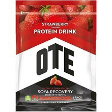 Ote Soya Powdered Protein Recovery Drink 1.0kg (strawberry) - Strawberry -  ote soya recovery strawberry performance 104kg powdered protein drink