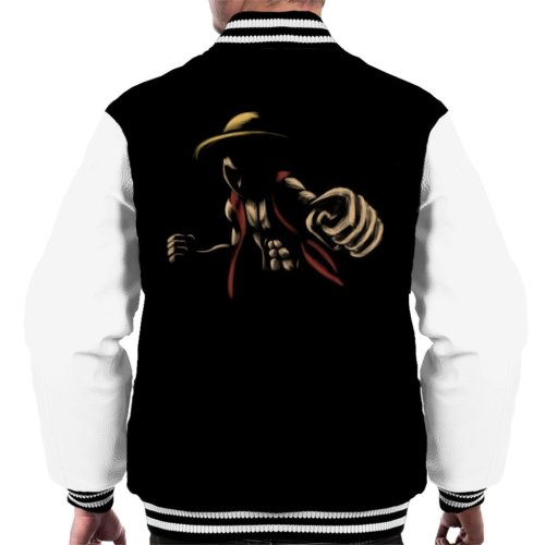 Elastic Pirate Monkey D Luffy One Piece Men's Varsity Jacket