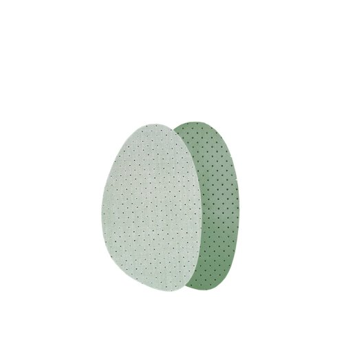 Kaps Soft Latex Half Insoles - Comfortable Cotton & Latex - Discreet - Absorbs Moisture & Prevent Odor - Firmer Than Gel - Prevents Rubbing &...