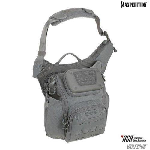 Wolfspur Crossbody Shoulder Bag, Gray