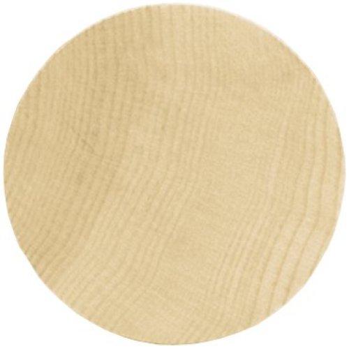 "Wood Turning Shapes Value Pack-Circle 3""X.125"" 6/Pkg"