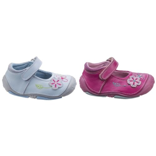 Hush Puppies Childrens/Girls Lara Touch Fastening Leather Shoes