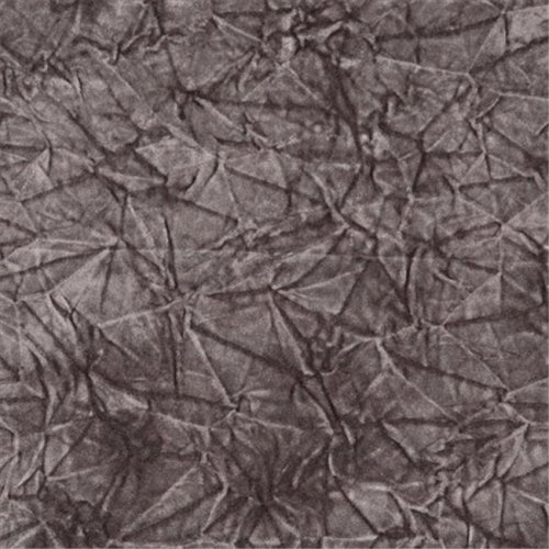 54 in. Wide Grey Classic Crushed Velvet Residential Commercial And Automotive Upholstery Velvet