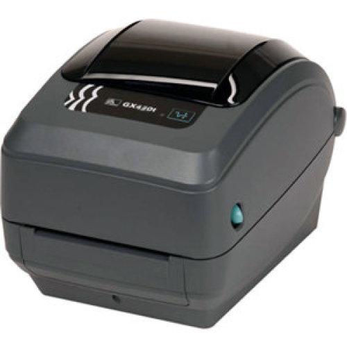 Zebra Gx430T Direct Thermal/Thermal Transfer Printer Monochrome Desktop Lab GX43-102521-000