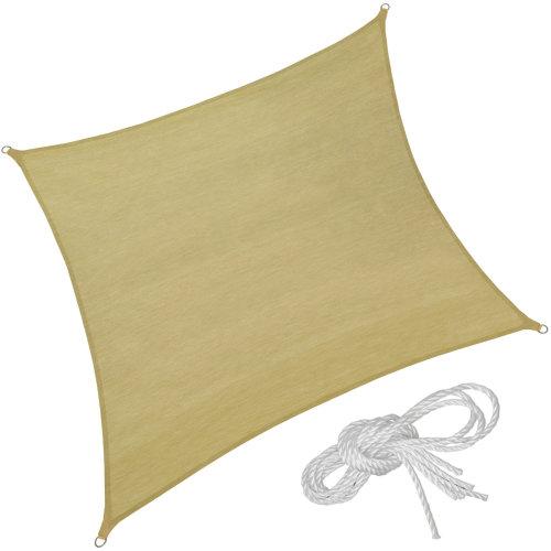Sun shade sail square 400 x 400 cm