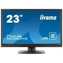 "Iiyama Prolite X2380hs 23"" Full Hd Ips Matt Black Computer Monitor"