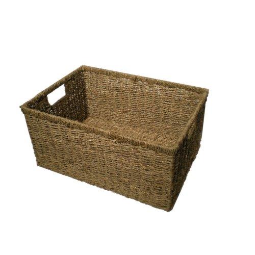 Handmade Taller Rectangular Storage Basket - Smaller Size