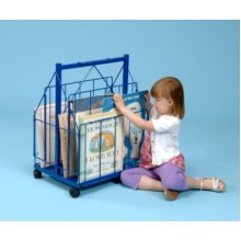 Mobile Book Storage Trolley (A1228)
