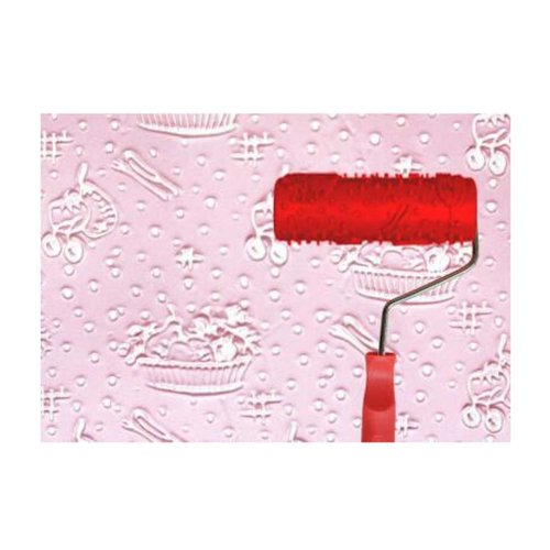 Classical Embossed Paint Roller Wall Painting Runner Wall DIY Tool, Pattern 16