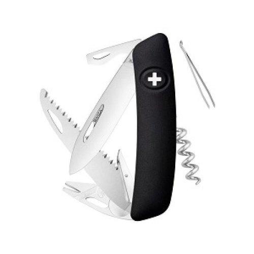 Swiza Tick Tool TT05 Multi-Function Tool Knife - Black - Tick Removal Tool