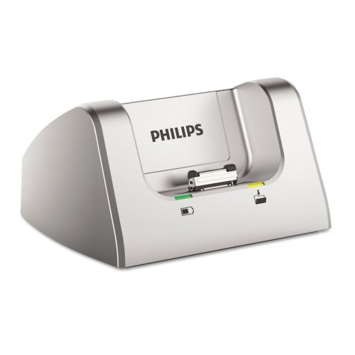 Philips ACC8120 Pocket Memo docking station for DPM8000, DPM7000 and DPM6000 series, silver