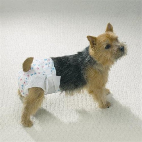 Clean Go Pet Disposable Doggy Diapers Sm