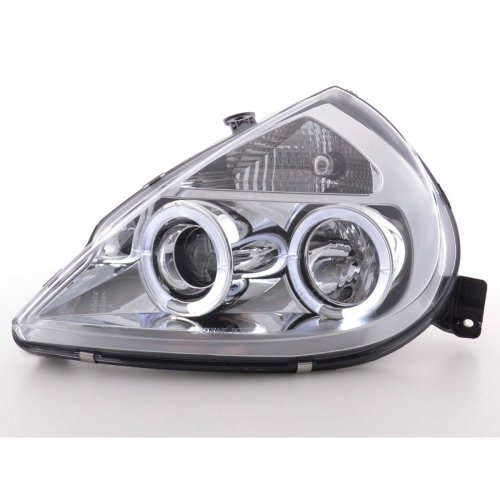 Angel Eye headlight  Ford KA type RBT Year 96-08 chrome