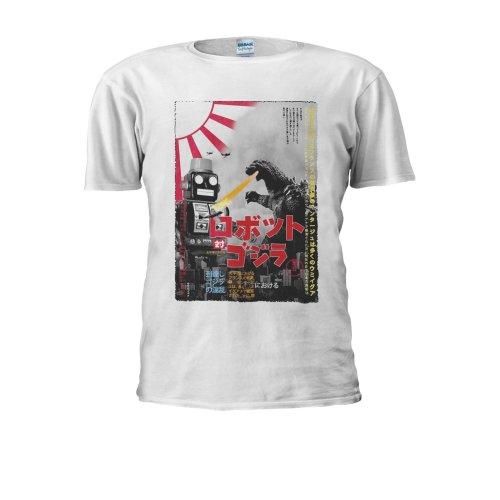 Tokyo Tin Robot Godzilla Top Fashion Novelty Men Women Unisex Top T Shirt
