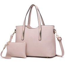 Miss Lulu Women Leather Shoulder Handbag Tote Bag with Money Pouch