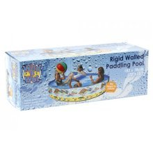 72 X15 Printed Rigid Pvc Pool In Box 16g - Pool Rigid Walled Paddling x 183cm -  pool rigid walled paddling x 183cm repair patch 38cm swimming 72 15