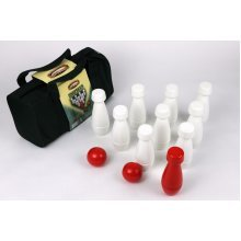 Traditional 13 Piece Quality Wooden Garden Skittles Game Set
