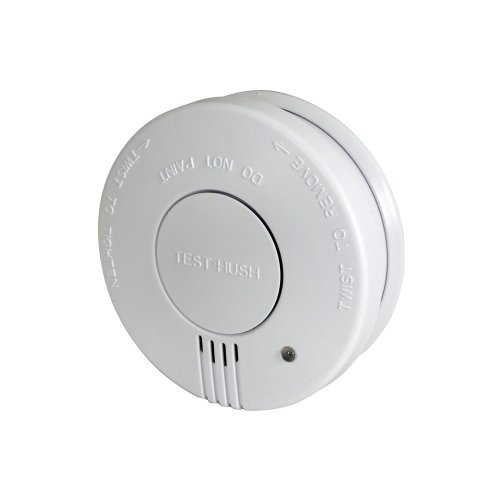 Photoelectric Smoke Detector with Hush Feature