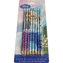 Frozen Colouring Pencils - 8 Pack