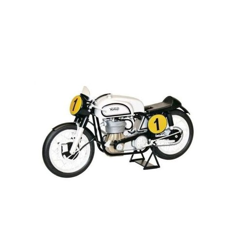 Italeri 4602 Norton Manx 500CC 1951 Motorcycle - Built Model