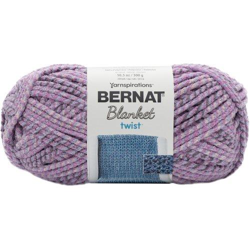 Bernat Blanket Twist Yarn-Purple Haze