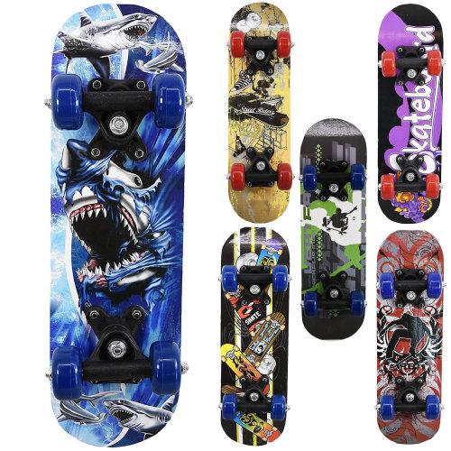 """Mini Skateboards, 17"""" x 5"""""""