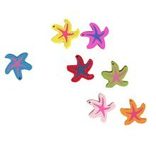 Creative Office Item/ Beautiful Starfish Series Push Pins, 14 Pcs, Random Color