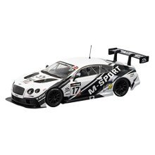 "Scalextric Bentley Continental GT3 ""M-Sport"" Slot Car (1:32 Scale)"