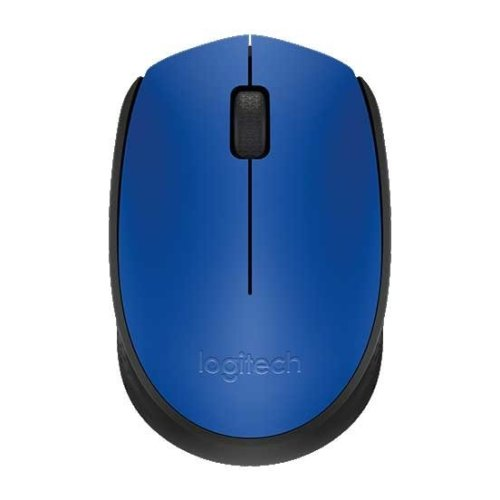 773b2f902a9 Logitech M171 Wireless Optical Mouse - Blue on OnBuy