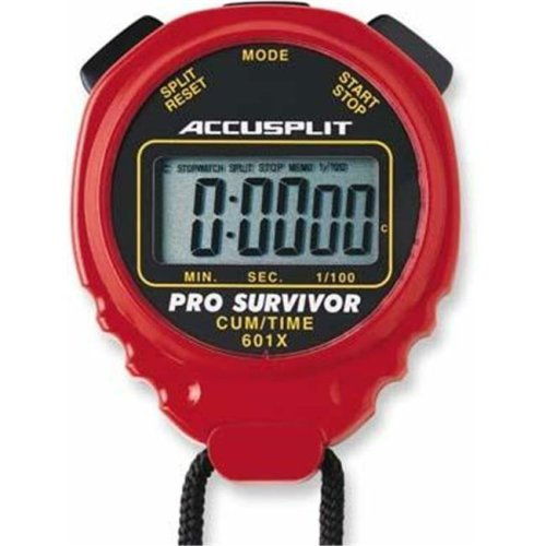 Olympia Sports TL068P ACCUSPLIT Pro Timer - Red
