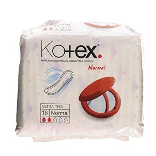 Kotex Pads - 16 Normal Ultra Thin