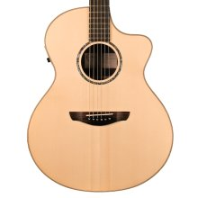 Faith FNCEHG HiGloss Series Neptune Baby Jumbo Electro Acoustic Guitar