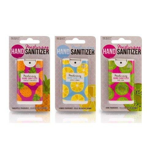 Moisturising Antibacterial Fruit Set Of 3 Hand Sanitizer Novelty Spray
