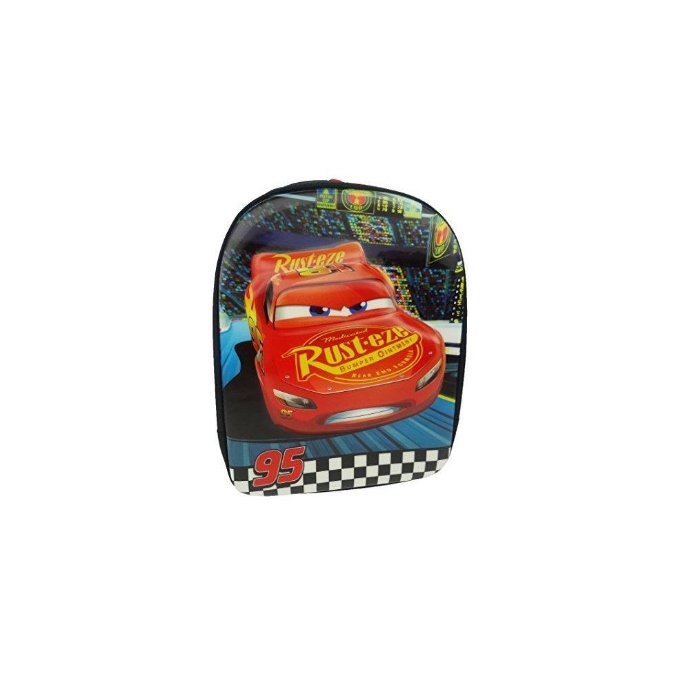 3da2a6f167c Disney Cars Children's Backpack, 31 Cm, 7 L, Black - Lightning Mcqueen  Official. >