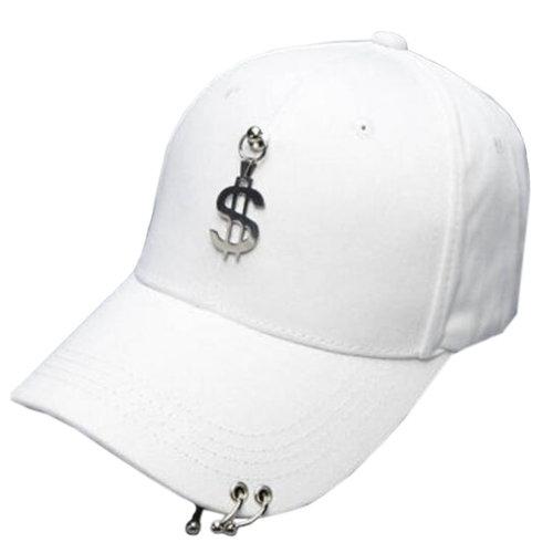 Unisex Fashion Outdoors Sports Cap Peaked Cap Adjustable Korean Baseball Hip Hop Cap,#C
