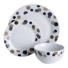 12Pc Luna Dinner Set
