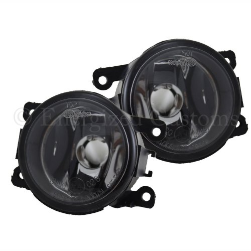 Ford Fusion 2002-> Front Fog Light Lamps 1 Pair O/s & N/s