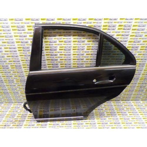 MERCEDES C CLASS W204 PASSENGER SIDE REAR DOOR WITH QUARTER GLASS (BARE)