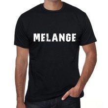 melange Mens T shirt Black Birthday Gift 00555
