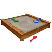 Square Wooden Sandpit