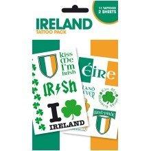 Ireland Symbols Tattoo Pack