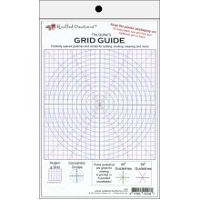 """Quilled Creations Quiller's Grid Guide-8""""X5"""""""